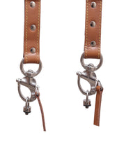 Load image into Gallery viewer, THE WARRIOR (Leather Double Camera Belt Strap with Customised Logo)