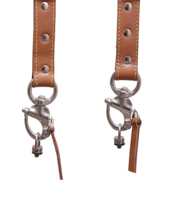 THE WARRIOR (Leather Double Camera Belt Strap with Customised Logo)