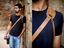 Load image into Gallery viewer,  Leather Camera Strap Belt