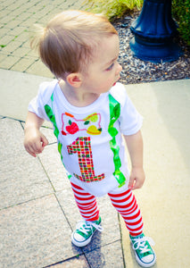1st B-Day Boy Outfit - Hungry Caterpillar