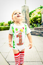 Load image into Gallery viewer, 1st B-Day Boy Outfit - Hungry Caterpillar