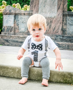 1st B-Day Boy Outfit - Classy Little Prince