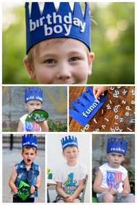 Wear Your Words Toddler Crown Kids Phonics Game Activity Make Your Own Word Reusable Letters Felt Alphabet