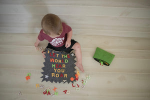 Letter Board Kids Boys Letterboard Educational Message Board Toddlers Tweens Phonics Make Words Reusable Activity Hanging Felt Sign
