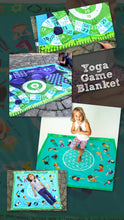 Load image into Gallery viewer, Yoga Kids Poses Mat Blanket Games Activity Blanket Soft Mink Childrens Kindergarten Toddler Kids Large Gift