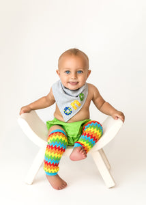 1st B-Day Boy Outfit- Colorful Monsters