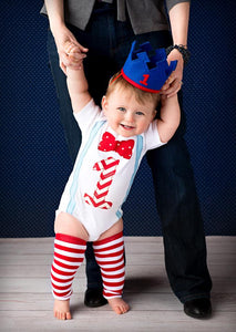1st B-Day Boy Outfit - Carnival Dr. Seuss