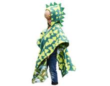 Load image into Gallery viewer, Car Seat Poncho - Car Crash Tested and CPSC Compliant - Dino Spikes