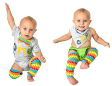 Load image into Gallery viewer, 1st B-Day Boy Outfit- Colorful Monsters