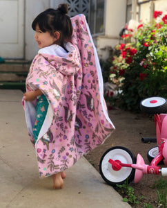 Car Seat Poncho - Car Crash Tested and CPSC Compliant - Magical Unicorns