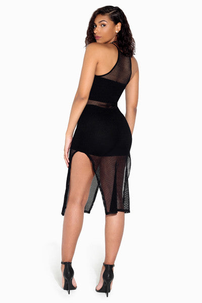 Serve 'Em Net Dress