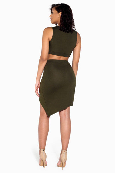 Maya Cutout Skirt Set
