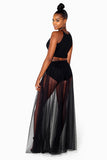 Sheer Bliss Skirt Set