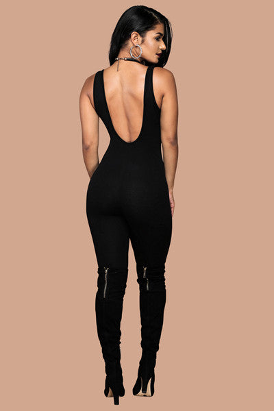 Super Sleek Catsuit - Nude