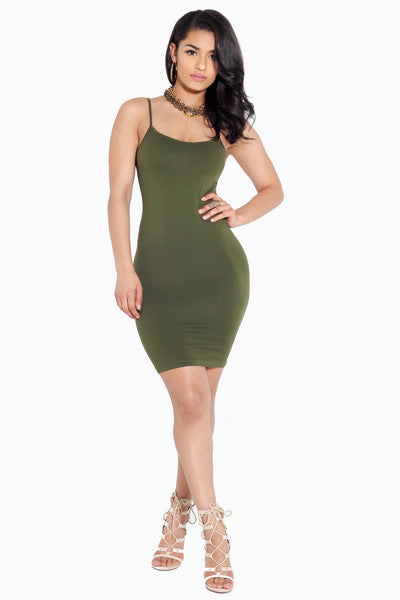 Best Behavior Slip Dress
