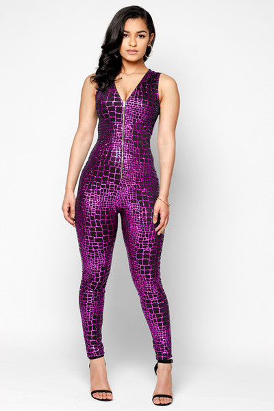 Electrik Open-Back Catsuit
