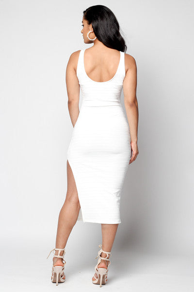 Split Bandage Dress