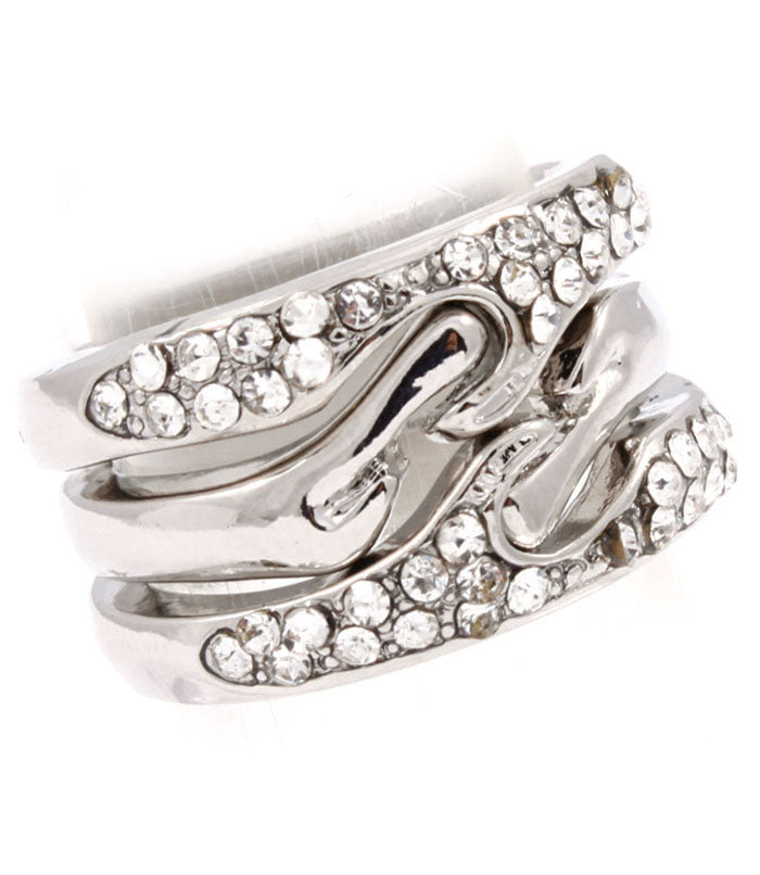 Moda 3-Piece Ring Set
