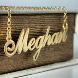 Alana Name Necklace - 24K Gold Plated