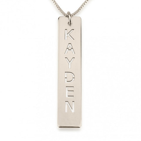 Love On Top Name Necklace - 24K Gold Plated