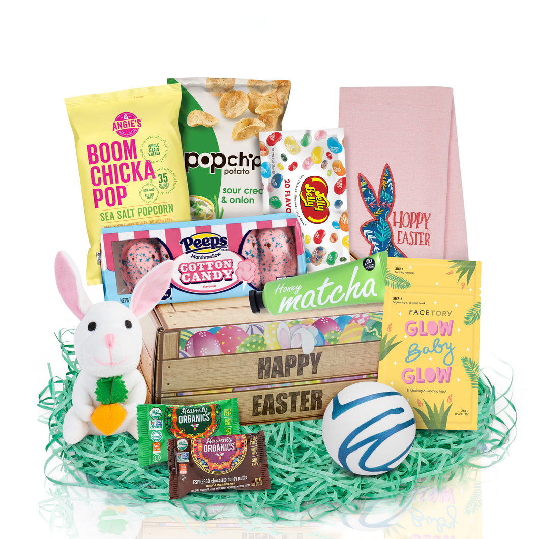 Easter gift basket for women