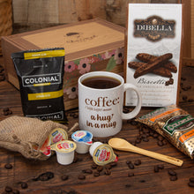 Load image into Gallery viewer, A Coffee Lover's Specialty Gift Box