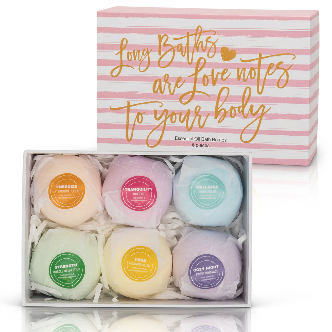Essential Oil Bath Bomb Set - 3 oz.
