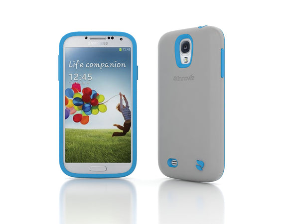 Eco Friendly Interchangeable Samsung Galaxy S4 Case (Gray/Blue)