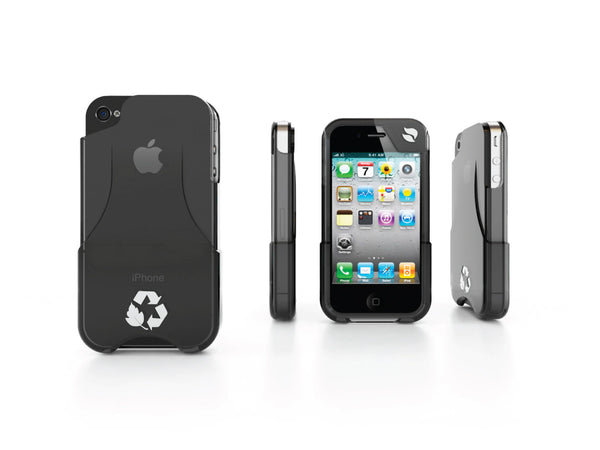 Eco Friendly iPhone Glider 4/4S Case (Black)