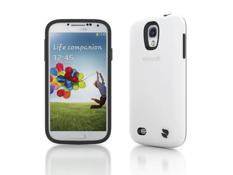 Eco Friendly Interchangeable Samsung Galaxy S4 Case (White/Black)