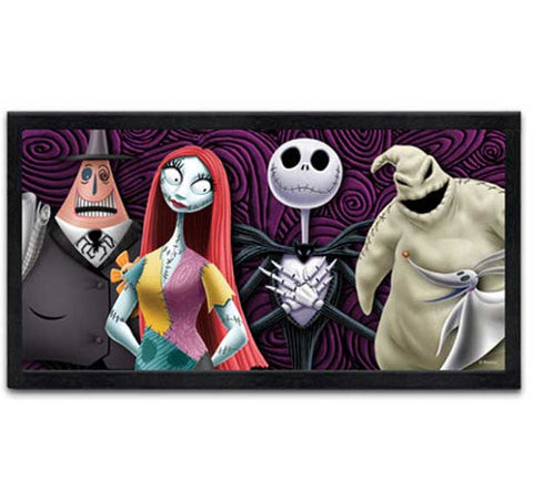 Wall Art Nightmare Before Christmas Group