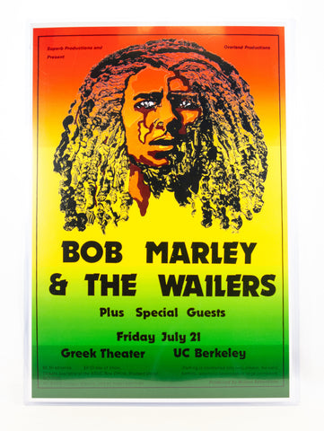 Print Bob Marley Greek Theater