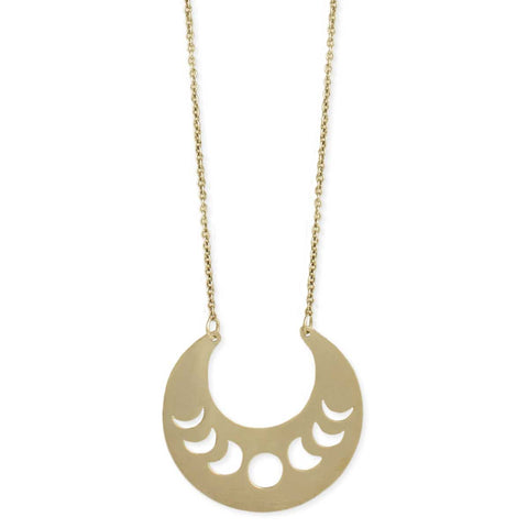Necklace Moon Goddess Moon Phase
