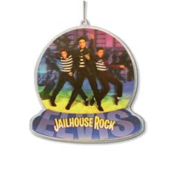 Ornament Elvis Presley Jail House Rocks