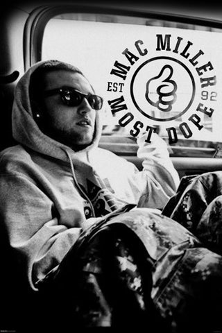 Poster Mac Miller Most Dope