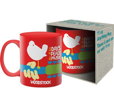 Mug Woodstock Red