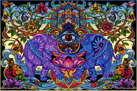 Tapestry Hamsa Dream