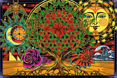 Tapestry Flower of Life