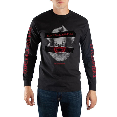 T-Shirt Long Sleeve IT: Chapter 2 Come Back and Play