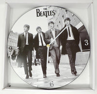 CLOCK BEATLES WOOD