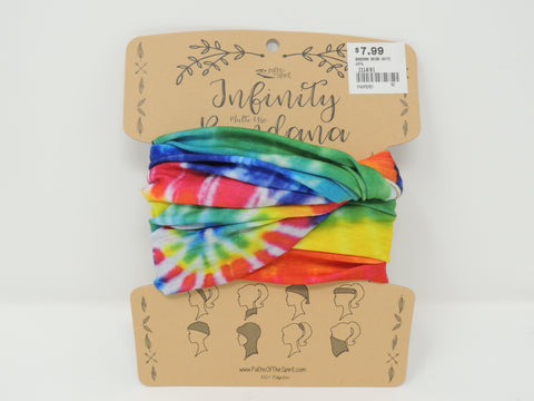 Bandana Rainbow White
