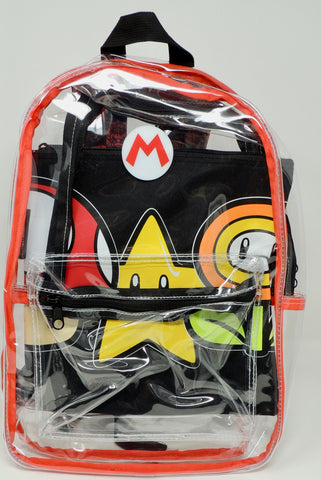 BACKPACK MARIO CLEAR