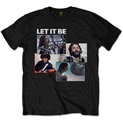 TSHIRT BEATLES LET IT BE RECOR