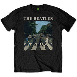 TSHIRT BEATLES ABBEY RD LOGO