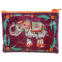 COIN PURSE ELEPHANT ZIPPERED