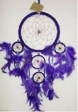 Dreamcatcher Purple Medium