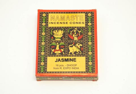 Incense Cones Jasmine 16 Pieces