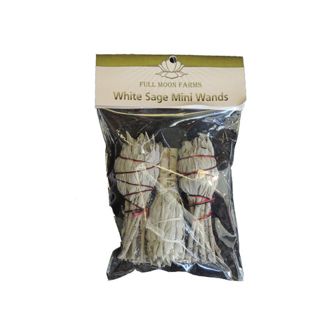 Incense - White Sage Mini Wands
