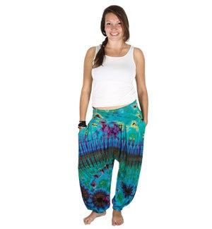 Pants Tye Dye Harem Assorted