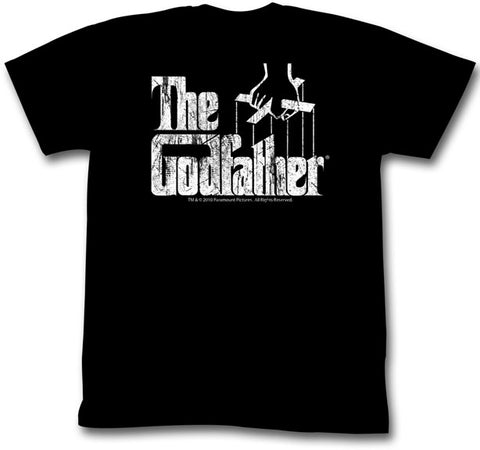 TSHIRT GODFATHER BLACK